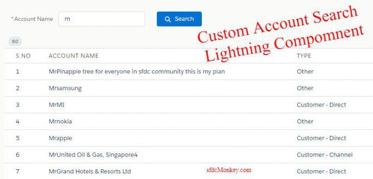 account-search-custom-lightning