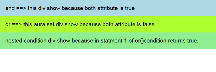 use Multiple conditions in aura:if image