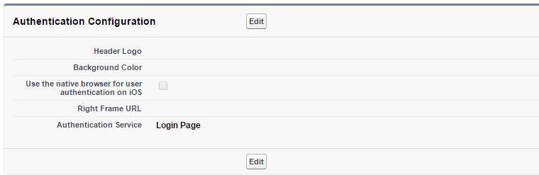 Customize logIn Screen