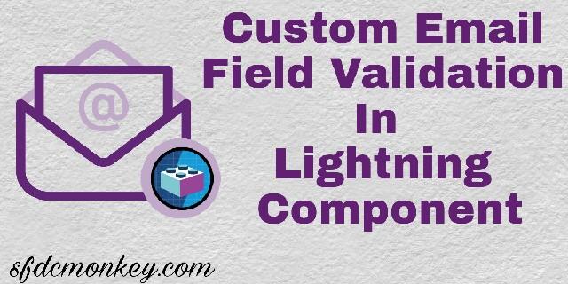 Lightning Component email validation