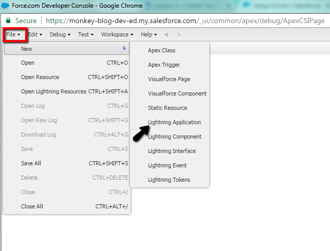 tutorial create your first lightning component sfdcmonkey.com