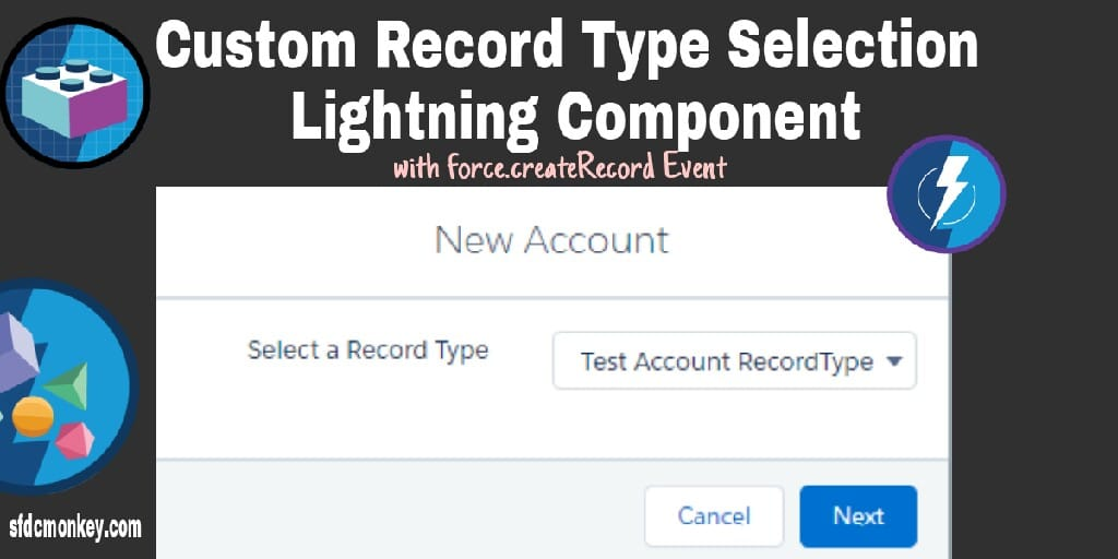 Custom Record Type Selection Lightning Component with force:createRecord event