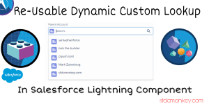 custom lookup in salesforce lightning