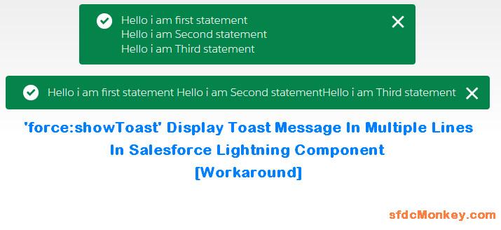 force-showToast - lightning-msg