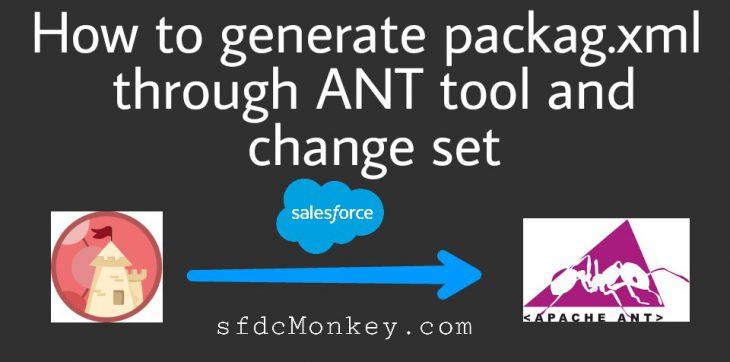 package xml using changeset