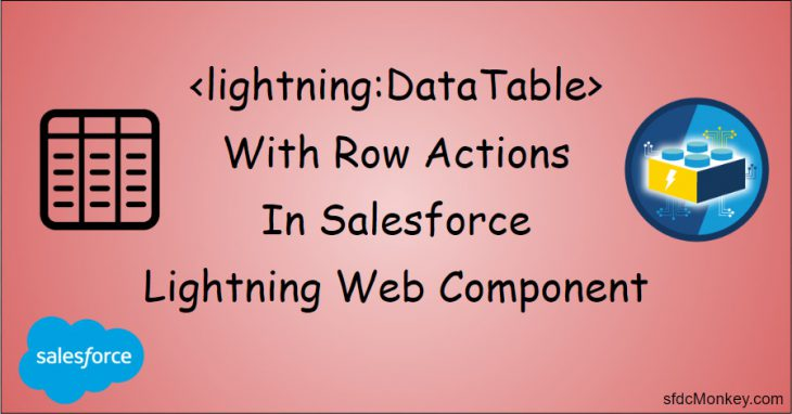 datatable lightning web component salesforce